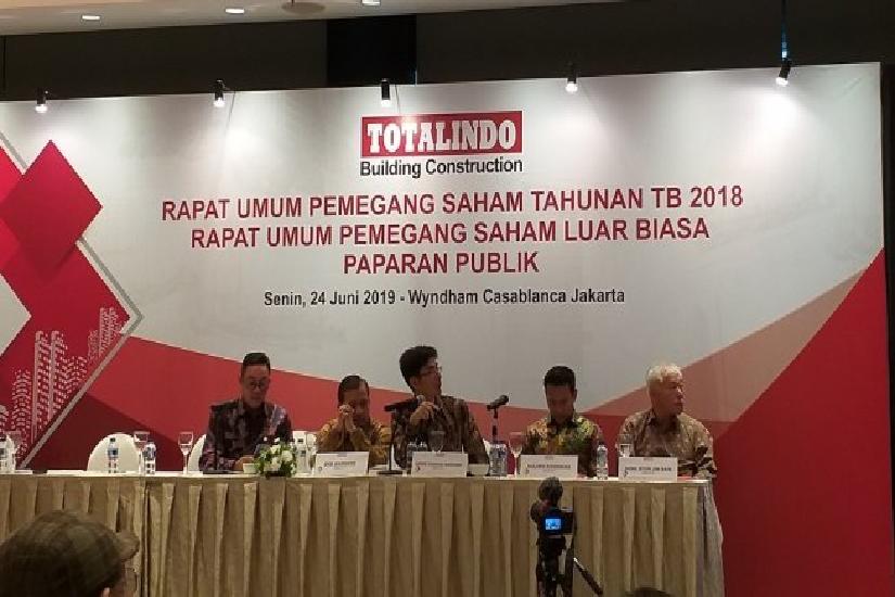 Catatkan rugi bersih, kinerja Totalindo Eka Persada (TOPS) di 2019 melempem